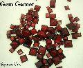 Square Cut Garnet Gemstone