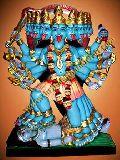 Maa Kali Marble Statue (304)