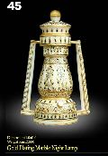 Gold Plated Marble Night Lamp- Ml-001