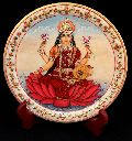 Goddess Painted Marble Plate