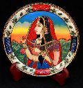 Rajasthani Painted Marble Plate