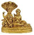 Brass Vishnu Lakshmi Statue