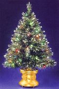 Fiber Optic Style Christmas Trees