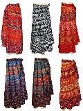 Cotton Wrap Around Skirts