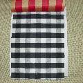 Black & White Plaid Fabric