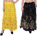 Block Hand Printed Skirts for Women's Girl's