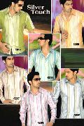 Silver Touch Striped Shirts