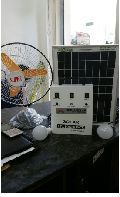 SOLAR HOME LIGHT WITH FAN SYSTEM