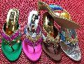 Ladies Party Wear High Heel Slippers