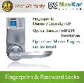 Biometric Door Entry Lock Based On Fingerprint + Password + Mechanical