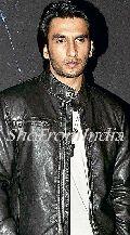 Bollywood Star Ranbir Singh Black Lamb Leather Jacket