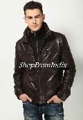 Brown Lamb Leather Jacket