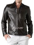 Mens Classic Leather Jacket