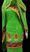 Banarasi Woven Applique Suit