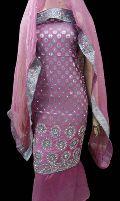 Banarasi Woven Chanderi Suit