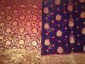 Antique Saffron Banarasi Vintage Sarees