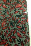 Flock Print Brasso Fabric