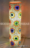 GLASS TABLE LAMP MOSAIC
