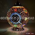 MOSAIC GLASS  TABLE LAMP
