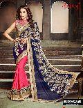 Ethnic bridal saree