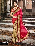 Stunning bridal saree