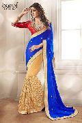 Stunning net designer saree