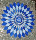 Blues Glass Mosaic
