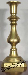 Nautical Brass Candle Stand