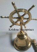 Wheel Style Brass Bell