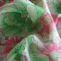 Polyester Georgette Printed Fabric