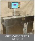 Automatic Check Weighing Machine