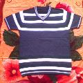 Mens Knitted V Neck T Shirts